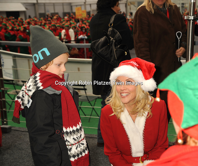 Jenny McCarthy and son Evan Asher