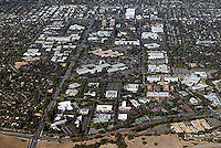 Palo Alto California Aerial Photography