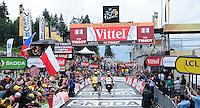 Picture by Simon Wilkinson/SWpix.com - 22/07/2016 - Cycling Tour de France 2016 Stage 19 - Albertville to Saint Gervais Mont Blanc<br /> Romain Bardet<br /> copyright picture - Simon Wilkinson - simon@swpix.com