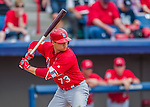 13 March 2016: St. Louis Cardinals infielder Aledmys Diaz in action during a pre-season Spring Training game against the Washington Nationals at Space Coast Stadium in Viera, Florida. The teams played to a 4-4 draw in Grapefruit League play. Mandatory Credit: Ed Wolfstein Photo *** RAW (NEF) Image File Available ***