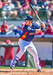 4 March 2016: Houston Astros outfielder Preston Tucker in action during a Spring Training pre-season game against the St. Louis Cardinals at Osceola County Stadium in Kissimmee, Florida. The Astros defeated the Cardinals 6-3 in Grapefruit League play. Mandatory Credit: Ed Wolfstein Photo *** RAW (NEF) Image File Available ***