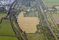 Gleisdreieck Wohnungsbau : EUROPA, DEUTSCHLAND, HAMBURG 03.10.2015: in Planung befindliches  Gebiet Gleisdreieck Mittlerer Landweg