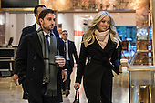 Tiffany Trump leaves Trump Tower in New York, NY, USA on January 19, 2017.  <br /> Credit: Maite H. Mateo / Pool via CNP