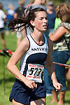 Skyview senior Elaina Gillespie during the Roger Curran Invitational varsity race at West Park in Nampa, Idaho on September 8, 2012. Gillespie finished in 22:06.26.