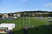 A general view of Red Bull Uni 7s action. West Country Challenge Cup match, between Bath Rugby and Gloucester Rugby on September 26, 2015 at the Recreation Ground in Bath, England. Photo by: Patrick Khachfe / Onside Images