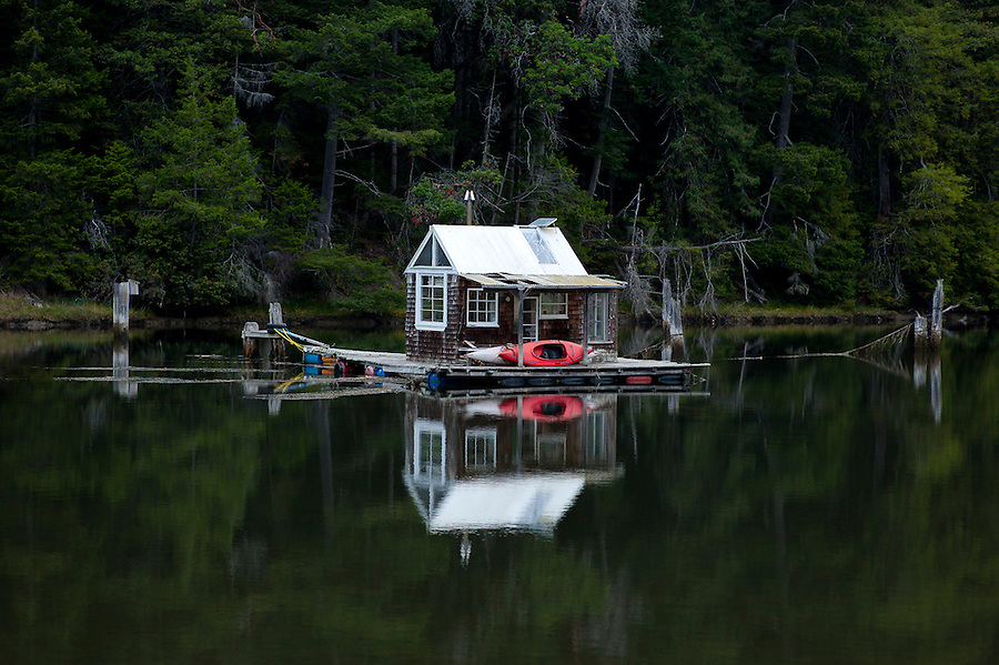 Floating Cabin On The Albion River Mendocino County