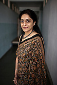 Dr. Nayna Patel poses for a photograph at her clinic, Akanksha Infertility and IVF Clinic in Anand, Gujarat, India. The centre has become the most popular clinic for outsourcing pregnancies by western couples.