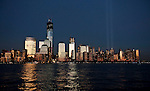 Tribute in Lights during 11th anniversary of  9/11 attacks
