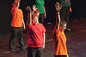 """""""InterAct Walton"""" performing.  Special Olympics Surrey put on a show,   """"Beyond the Stars"""", at the Rose Theatre, Kingston upon Thames to raise money for the  SOGB team.  The Special Olympics are for athletes with learning disabilities."""