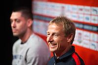 USA Press Conference with Jurgen Klinsman and Clint Dempsey