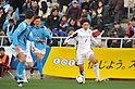 Koki Arita (Ehime FC), MARCH 11, 2012 - Football : 2012 J.LEAGUE Division 2 between Yokohama FC 0-0 Ehime FC at NHK Spring Mitsuzawa Football Stadium, Kanagawa, Japan. (Photo by Atsushi Tomura /AFLO SPORT) [1035]