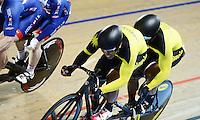 Picture by Simon Wilkinson/SWpix.com - 05/03/2017 - Cycling 2017 UCI Para-Cycling Track World Championships, Velosports Centre, Los Angeles USA - Malaysia Muhammad Afiq Afify RIZAN - Muhammad Khairul Adha RASOL