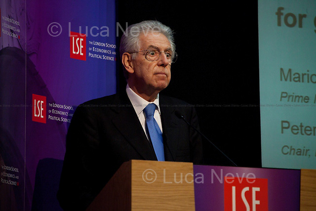 Mario Monti, Italian Prime Minister. <br /> <br /> For more pictures on this event click here: &lt;a href=&quot;http://bit.ly/Rr24xd&quot;&gt; http://bit.ly/Rr24xd&lt;/a&gt;