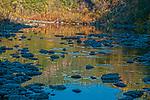 Autumn on the North Fork of the Amerian River, Auburn, California.
