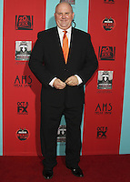 HOLLYWOOD, LOS ANGELES, CA, USA - OCTOBER 05: James DuMont arrives at the Los Angeles Premiere Screening Of FX's 'American Horror Story: Freak Show' held at the TCL Chinese Theatre on October 5, 2014 in Hollywood, Los Angeles, California, United States. (Photo by Celebrity Monitor)