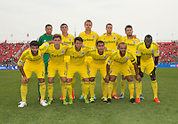 July 20, 2013: The starting eleven of the Columbus Crew in a game between Toronto FC and the Columbus Crew at BMO Field in Toronto, Ontario Canada.<br /> Toronto FC won 2-1.