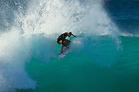North Shore/Oahu/Hawaii (Thursday, December 15, 2011) – Owen Wright (AUS)  during a free surfing session at Backdoor and Off The Wall on Oahu's North Shore. Photo: joliphotos.com