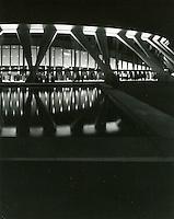 1972 January ..Redevelopment..Downtown North (R-8)..Scope Convention Center at night..Millard Arnold.NEG#..