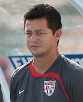 Wilmer Cabrera. Italy defeated the US Under-17 Men's National Team 2-1 in Kaduna, Nigera on November 4th, 2009.
