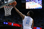 16 December 2015: North Carolina's Joel Berry II. The University of North Carolina Tar Heels hosted the Tulane University Green Wave at the Dean E. Smith Center in Chapel Hill, North Carolina in a 2015-16 NCAA Division I Men's Basketball game. UNC won the game 96-72.