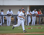 Ole Miss Head Coach Mike Bianco (5) vs. Mississippi State at Oxford-University Stadium in Oxford, Miss. on Thursday, May 12, 2011. (AP Photo/Oxford Eagle, Bruce Newman)