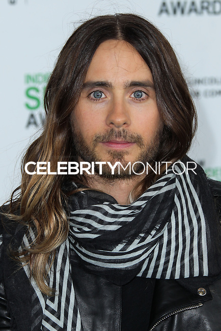 SANTA MONICA, CA, USA - MARCH 01: Jared Leto at the 2014 Film Independent Spirit Awards held at Santa Monica Beach on March 1, 2014 in Santa Monica, California, United States. (Photo by Xavier Collin/Celebrity Monitor)