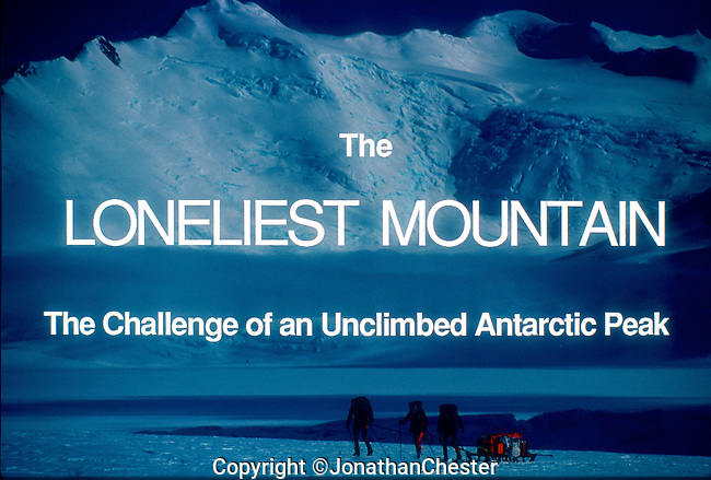"""(Feb 18th 1988) Greg Mortimer,Lyle Closs, Glenn Singleman,Chris Hilton Lincoln Hall (RIP) and Jonathan Chester made the first ascent of Mt Minto 4163m in Antarctica's, North Victoria Land on the epic  three-month-long """"Australian Bicentennial Antarctica Expedition"""""""