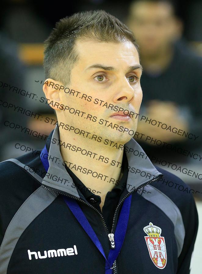 Rukomet-Handball<br /> Srbija v Rumunija-Prijateljski mec friendly match<br /> Dalibor Cutura<br /> Beograd, 28.12.2015.<br /> foto: Srdjan Stevanovic/Starsportphoto&copy;