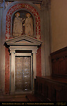 Door of the Apostles St Cosmas St Damian Donatello Old Sacristy Basilica di San Lorenzo Florence