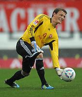 FUSSBALL   1. BUNDESLIGA  SAISON 2011/2012   6. Spieltag 1 FC Nuernberg - SV Werder Bremen         17.09.2011 Alexander Stephan  (1 FC Nuernberg)