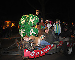 Christmas parade in Oxford, Miss. on Monday, December 6, 2010.