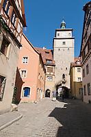 Rothenburg ob der Tauber, Franconia, Bavaria, Germany