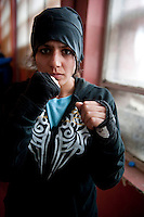Afghan National Women's boxing team 2012