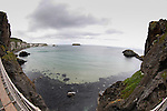A view from the Carrick-a-Rede Rope Bridge in Ballintoy, County Antrim, Northern Ireland on Saturday, June 22nd 2013. (Photo by Brian Garfinkel)