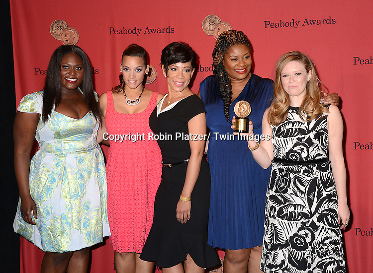 """cast of """"Orange is the New Black"""" attends the 73rd Annual Peabody Awards on May 19, 2014 at The Waldorf Astoria Hotel in New York City, New York, USA."""