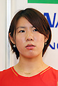Sayaka Sato (JPN), .June 9, 2012 - Badminton : .Badminton Japan National Team Send-off Ceremony for the London Olympics 2012 .in Tokyo, Japan. .(Photo by Daiju Kitamura/AFLO SPORT) [1045]