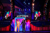 Denver, Colorado<br /> August 25, 2008<br /> <br /> The opening day of the Democratic National Convention in the Pepsi Center. Former president Jimmy Carter and his wife, Rosalynn briefly take the convention stage.