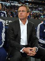 FUSSBALL   1. BUNDESLIGA   SAISON 2011/2012   SUPERCUP FC Schalke 04 - Borussia Dortmund            23.07.2011 Trainer Ralf RANGNICK (FC Schalke 04)