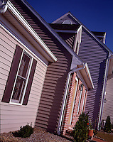 abstract design pattern residential suburban suburbia houses siding