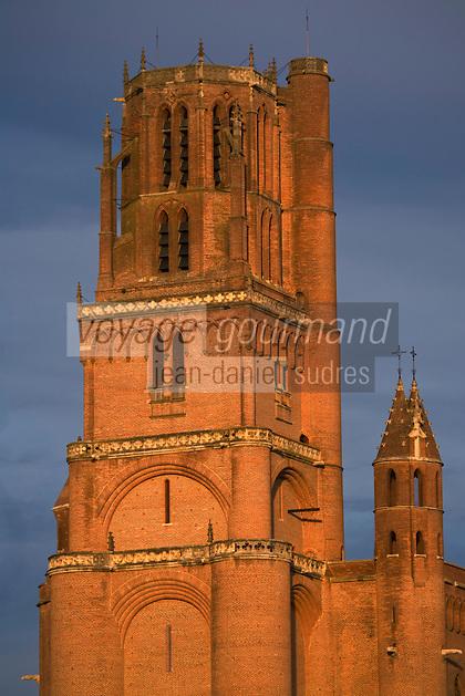 Europe/France/Midi-Pyrénées/81/Tarn/ Albi: La Cathédrale Ste-Cécile - le clocher