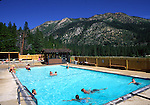 Grover Hot Springs swimming pool