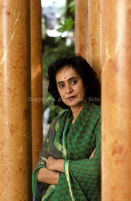 Gita Mehta, Indian writer in 2006.