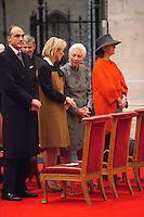Belgian Royal family attends the 'TE DEUM ' in Brussels - Belgium