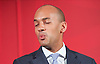 Labour Party Education manifesto launch at Microsoft, London, Great Britain <br /> 9th April 2015 <br /> <br />  General Election Campaign 2015 <br /> <br /> <br /> <br /> Chuka Umunna<br /> Shadow Business Secretary <br /> <br /> <br /> <br /> <br /> Photograph by Elliott Franks <br /> Image licensed to Elliott Franks Photography Services