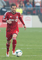 July 3, 2013: Toronto FC midfielder Bobby Convey #15 in action during an MLS game between Toronto FC and Montreal Impact at BMO Field in Toronto, Ontario Canada.<br /> The game ended in a 3-3 draw.