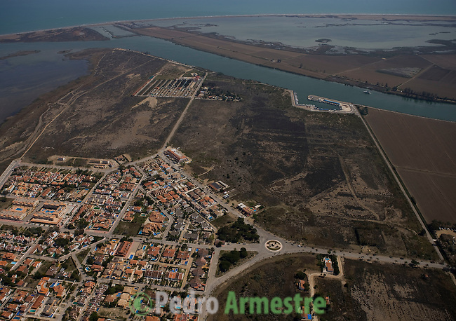 URBANIZACION RUIMAR-DELTA DEL EBRO-TARRAGONA-CATALUÑA. 2008-04-17. (C) Pedro ARMESTRE