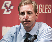 Nate Leaman (PC - Head Coach) - The Boston College Eagles defeated the visiting Providence College Friars 3-1 on Friday, October 28, 2016, at Kelley Rink in Conte Forum in Chestnut Hill, Massachusetts.The Boston College Eagles defeated the visiting Providence College Friars 3-1 on Friday, October 28, 2016, at Kelley Rink in Conte Forum in Chestnut Hill, Massachusetts.