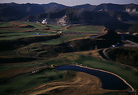 Twisted Gun golf course is a reclaimed mountaintop removal site near Gilbert, WV.