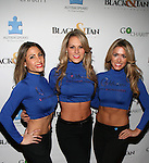 GOTHAM CITY CHEERLEADERS AT NFL LEGENDS JOE MONTANA & DWIGHT CLARK HONORED AT THE CATCH SUPER BOWL  VIEWING PARTY HELD AT THE EDISON BALL ROOM, NY
