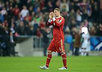 FUSSBALL   CHAMPIONS LEAGUE   SAISON 2012/2013   GRUPPENPHASE   FC Bayern Muenchen - LOSC Lille                          07.11.2012 Torwart Manuel Neuer (FC Bayern Muenchen)